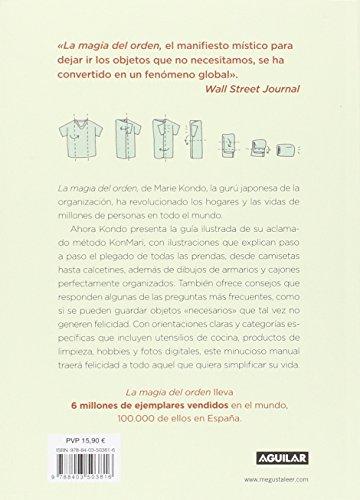 Reseña y Review del libro LA FELICIDAD DESPUÉS DEL ORDEN: Una clase magistral ilustrada sobre el arte de organizar el hogar y la vida de Marie Kondo