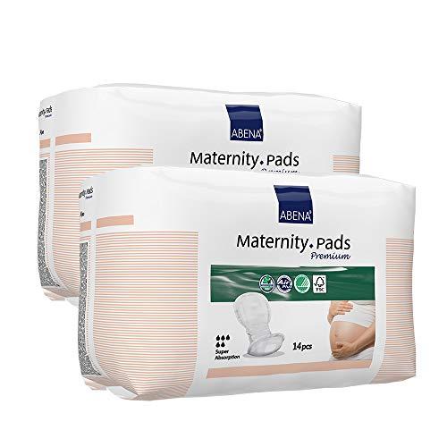 Abena Premium Lot de 14serviettes hygiéniques de maternité