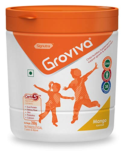 Groviva Child Nutrition Supplement Jar - 200g (Mango)