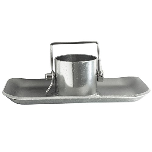 Jeremywell Trailer Jack Foot Plate 5000 lbs Capacity with Pin Base for A-Frame Boat RV Camper Removable