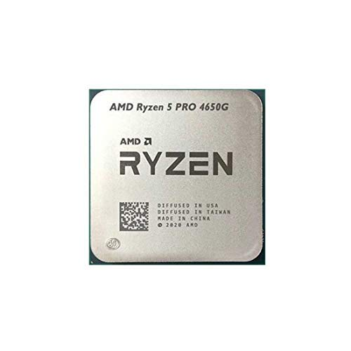 AMD Ryzen 5 PRO 4650G Processor 7nm 3.7Ghz 6 cores 12 Threads Processor only (Tray)