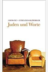 Juden und Worte Relié