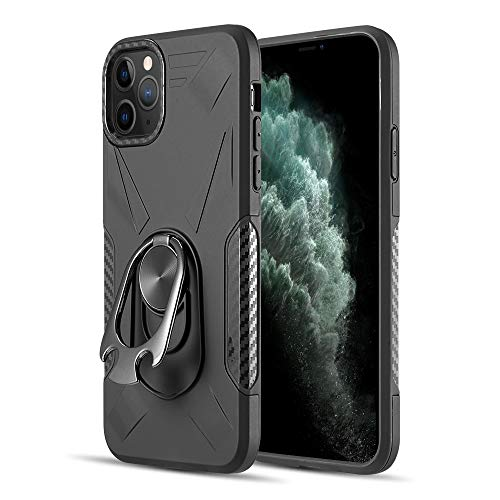 Bottle Opener Ring Kickstand Heavy Duty Rugged Phone Case for iPhone 11 Pro Max