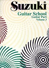 Suzuki Guitar School Guitar Part Volume 3