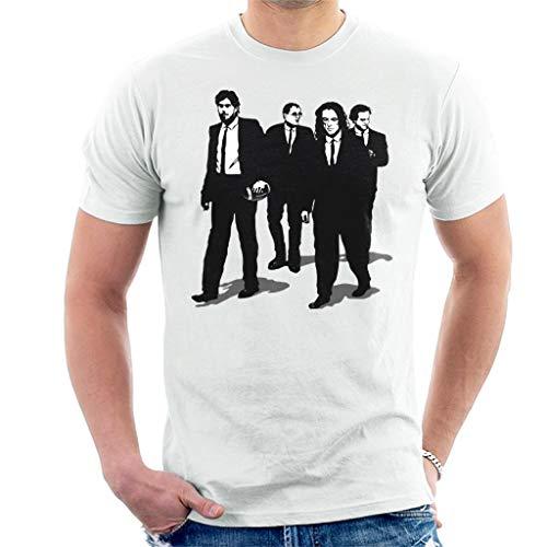 Reservior Groomsmen The Room Reservoir Dogs Mashup - Camiseta para hombre