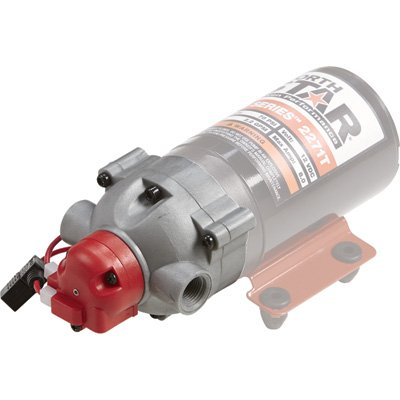 NorthStar Replacement Sprayer Pump Head - 3/8in. NPT Ports, 2.2 GPM, 70 PSI, Model Number A2682271