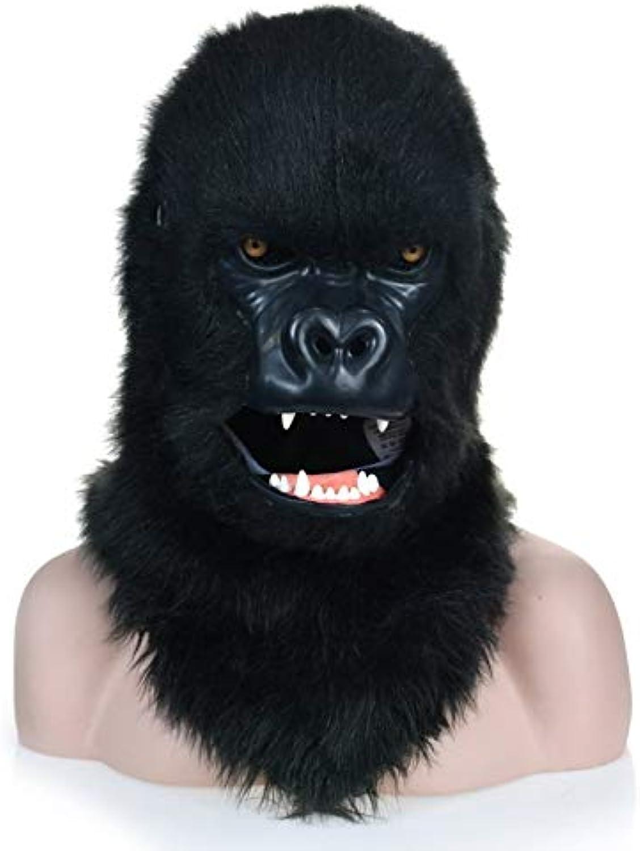 Tienda de moda y compras online. WandaElite MásCochea innovadora de Dibujos Animados de Animales Animales Animales con Diseño de Gorila Negro y Boca en Boca Party Accessories Dress up Juego Simulated Animal ( Color   negro , Talla   2525 )  distribución global