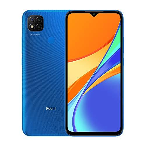 Xiaomi Redmi 9C Teléfono 3GB RAM + 64GB ROM, 6.53� Dot Drop Display, Procesador Octa-Core 5MP Frontal y 13MP Cámaras Triples Versión Global (Azul)