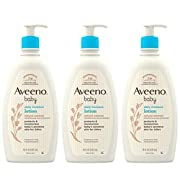 Aveeno Baby Aveeno Baby Daily Moisture Lotion With Colloidal Oatmeal & Dimethicone, 3 X 18 Fl. Oz, 54.0 Fl Oz (Packaging may vary)
