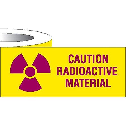 Label Tape Caution Radioactive Material 1