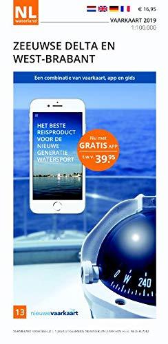 Vaarkaart Zeeuwse Delta en West-Brabant 2019: Het beste reisproduct voor de nieuwe generatie watersport