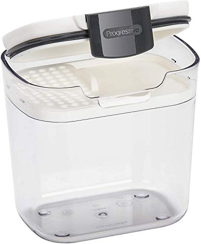 Progressive Pks-400 1.5 Cup Mini Prokeeper Airtight Silicone Seal Storage Container(pack of 6)