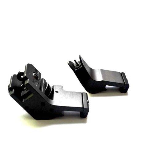Noga nuevo diseño GDT AR15Ar 15frontal y trasera 45Degree rápido transición Buis copia de seguridad hierro vista