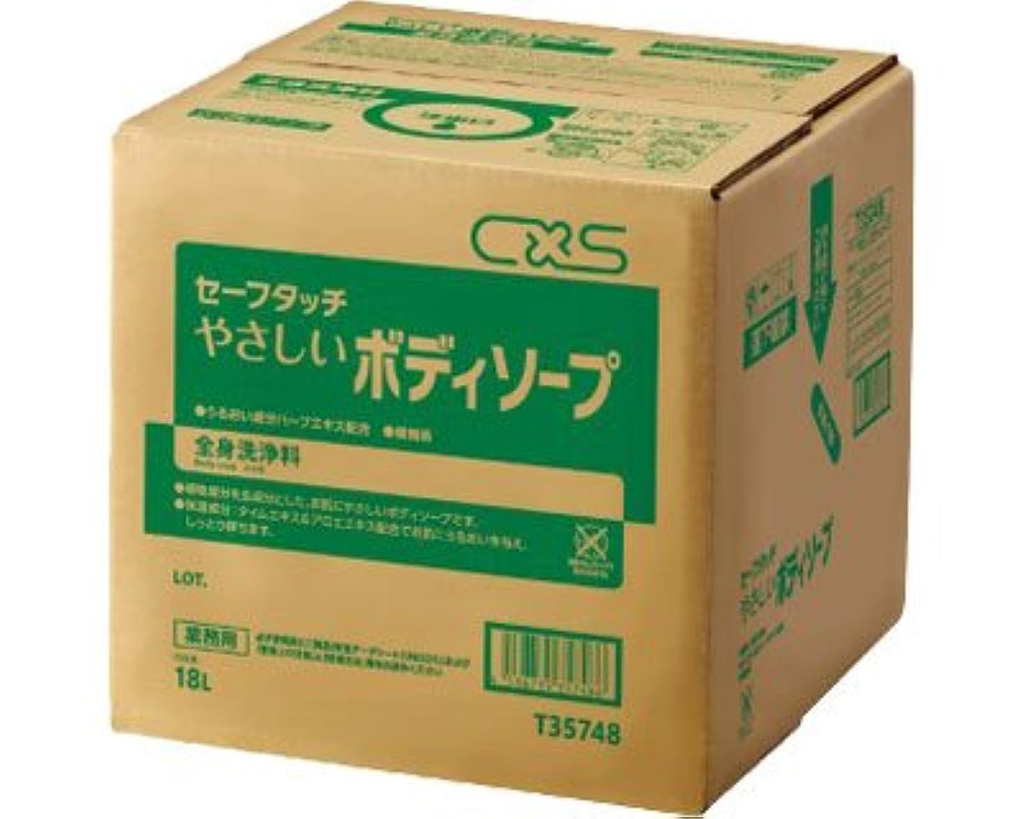 良心スケルトン水っぽいセーフタッチ やさしいボディソープ 18L T35748 (ディバーシー) (清拭消耗品)