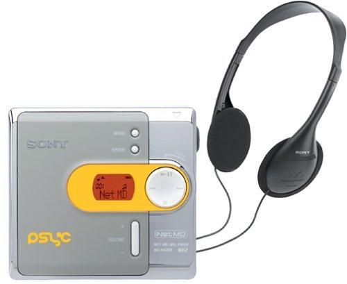 Sony MZ-N420D Psyc Net MD Walkman Digital Music Player (Renewed)