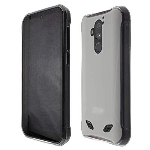 caseroxx TPU-Hülle für Gigaset GX290 / GX290 Plus, Handy Hülle Tasche (TPU-Hülle in weiß-transparent)