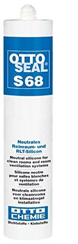 OTTOSEAL Silikon S-68 310ML C00 TRANSPARENT - 7068400