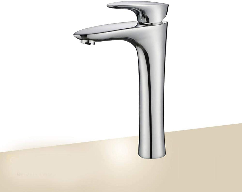 Yuanshuai88-Faucet Einhand-Becken Kupfer heies und kaltes Wasser Waschbecken hoch