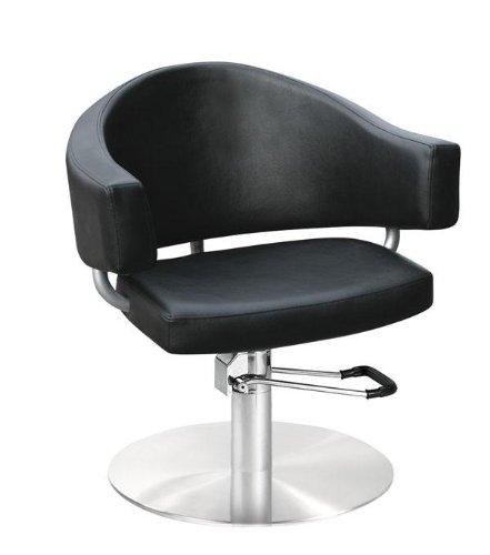 Comair 3070075 Valencia - Silla de peluquería profesional con bomba de bloqueo hidráulico, color...
