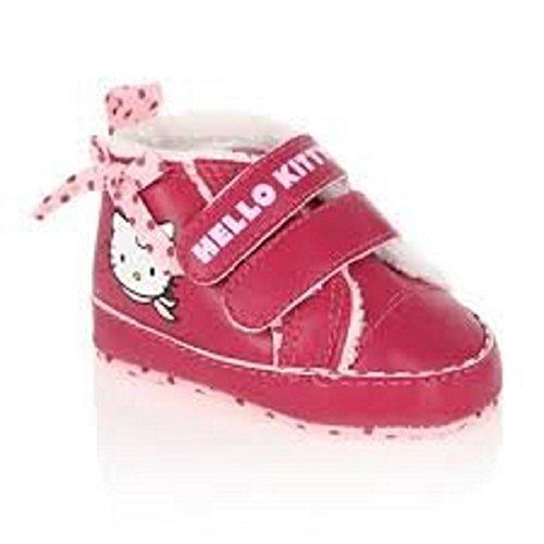 Hello Kitty - Chaussons fourrés Elia Fuchsia et Rose - T. 16