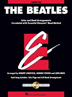The Beatles: Essential Elements for Band Correlated Collections Score W/CD