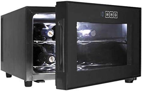 Lacor - 69187 - Armario refrigerador 8 Botellas Black Line 50w 23Litros