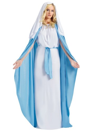 Fun World - Disfraz de virgen María para mujer, talla única (110814)