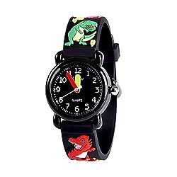 6. Dodosky Gifts Dinosaur Kid's Analog Watch