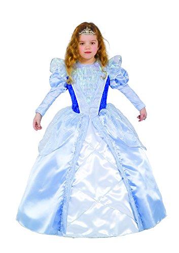 Ciao - Cenerentola Costume Bambina con Gioielli, 4-6 Anni