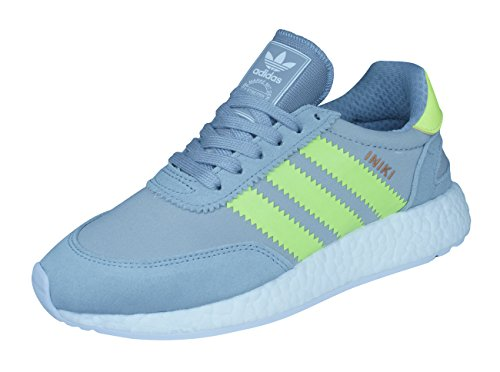 adidas Iniki Runner Damen Schuhe Turnschuhe Sneaker BB0001, Grau, 36 EU