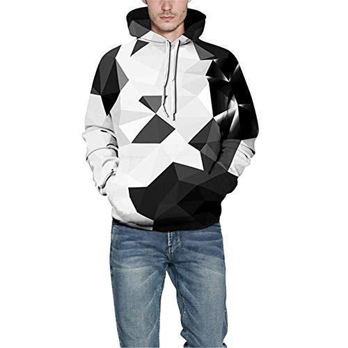 PRJN Autumn Men Hoodies 3D Digital Printing Hoodie Men Women Casual Long-Sleeved Pocket Sportswear Hoodies 3D Cool Hoody Funny Pullover Sweatshirts Long Sleeve Hooded Jumpers
