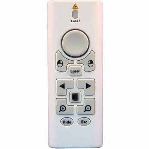 Mouse Power Presenter kit in Plastic Clamshell (includes transmitter, USB receiver, 2 AAA batteries