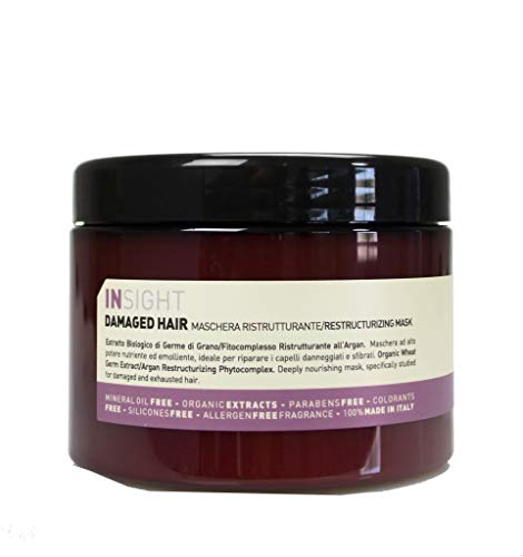 INSIGHT Restructurizing Mask 500 ml Restrukturierende Maske für stark strapaziertes Haar