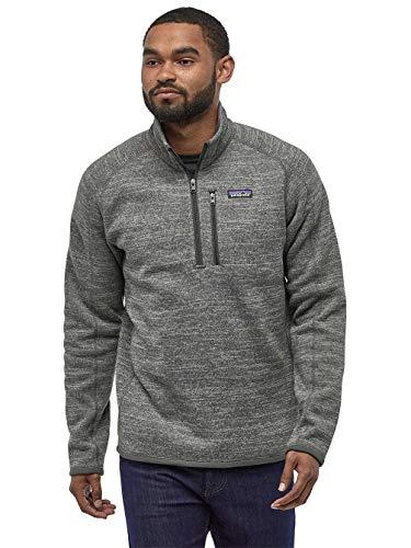 Patagonia Men's Better Sweater 1/4-Zip Fleece - Nickel XL