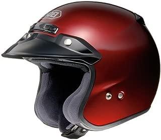 Shoei Metallic RJ-Platinum R Cruiser Motorcycle Helmet - Wine Red/X-Large