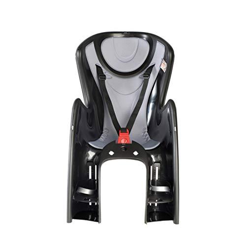 OKBABY Baby Shield - Seggiolino da Bicicletta Posteriore per Bambini (Portata Massima: 22 kg) - Nero