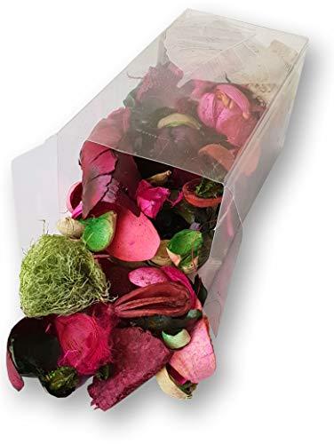 DKB Duft Potpourri 190 g Premium Qualität Raumerfrischer Luft (Rose)