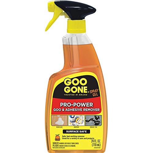 Goo Gone 2180ACT Gel removedor de adhesivos en spray, 4 por caja