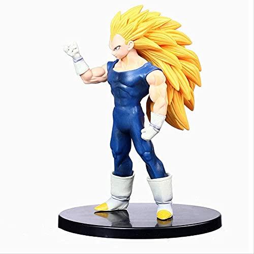 MDCGOK Anime Dragon Ball Z Super Saiyan Vegeta PVC Stock Figuras Toy...