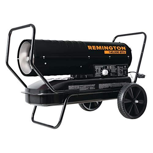 Remington 4892576 3500 sq. ft. 140000 BTU Forced Air Kerosene Heater