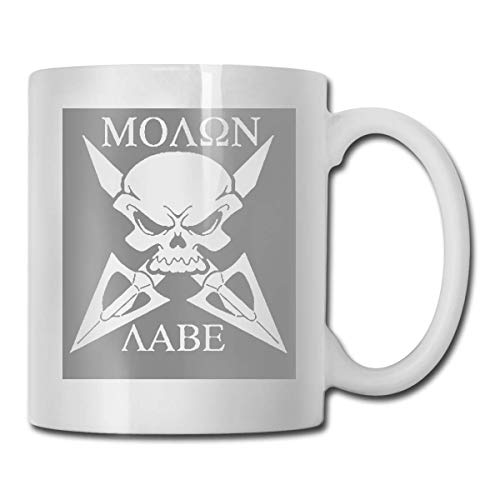 Taza de calavera de la muerte, taza de café para bebidas calientes, taza de gres, taza de café de cerámica, taza de té de 11 onzas, divertida taza de regalo para té y café