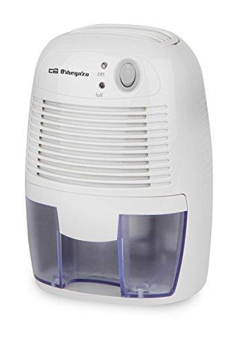 Orbegozo Deshumidificador DH 250, 23 W, 0.5 litros, Azul, Color Blanco