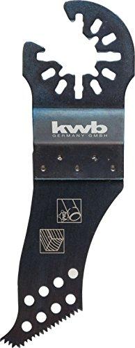 kwb AKKU-TOP CV Linienschneider - Multitool Säge-Blatt, 2, mm für alle handelsüblichen Maschinen
