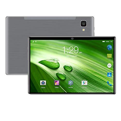 tablet PC 10.1 Pulgadas Android 9.0 HD Almacenamiento Grande 64GB ROM 4GB RAM Pantalla IPS HD de Ocho núcleos Altavoces duales Cámaras duales compatibles con WiFi Bluetooth G