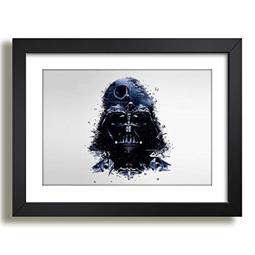 Quadro Darth Vader Filme Star Wars Pop Arte Decorativo Sala Paspatur Pronto para Pendurar