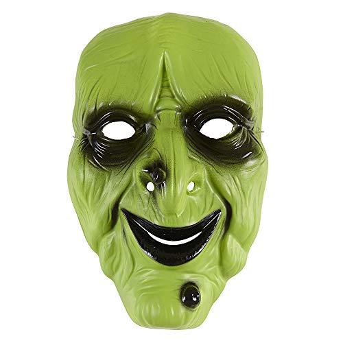 WIDMANN - Máscara bruja verde pvc
