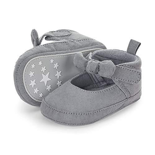 Sterntaler Baby Mädchen Schuh Stiefel, Grau (Rauchgrau 566), 19/20 EU