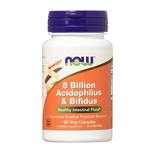 Now Foods, Acidophilus and Bifidus 8 Billion 240 Capsules