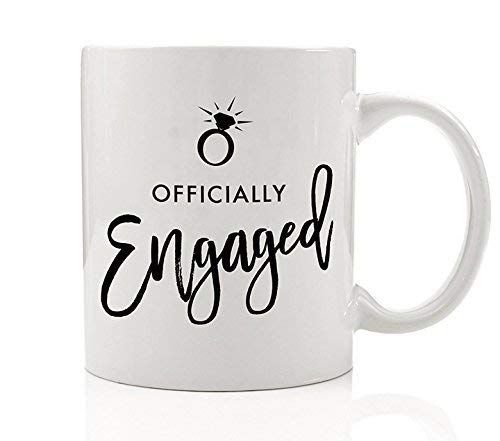 Officially Engaged Mug, 11 oz Coffee Mug, Engagement Ring Mug, Bride To Be Gift, Mug Wife, Wifey, Future Mrs Cup, Soon to Be Mrs Mug DM0189