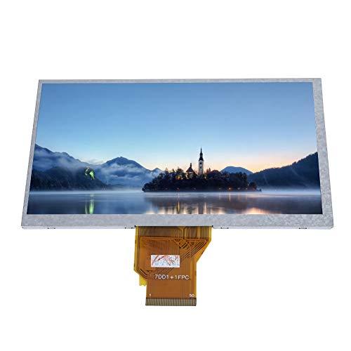 Raspberry Pi Screen, 7' Resistive Standard Screen for Raspberry Pi HD LCD Display for Raspberry Pi Supports LED Backlit Control For XP/win7/win8/win10